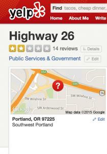 portland-highway-26-yelp-page