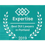 Expertise Best DUI Lawyer in Portland award for Andy Green