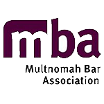 Multnomah Bar Assocation logo for Andy Green, member of Multnomah County Bar Assocation